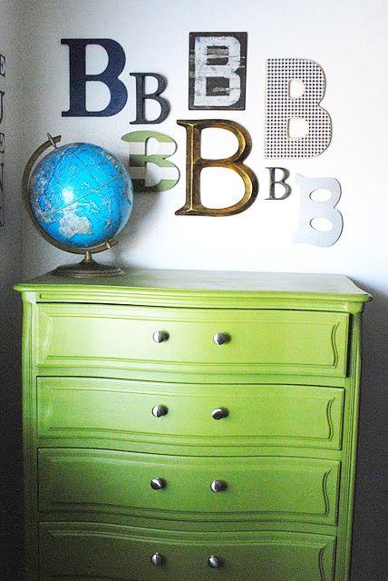 5 green white eclectic kids room childs bedroom boys girls for Childrens unisex bedroom ideas