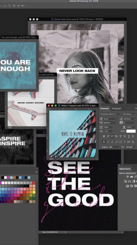 Simular ventanas programa Inspirasi desain grafis