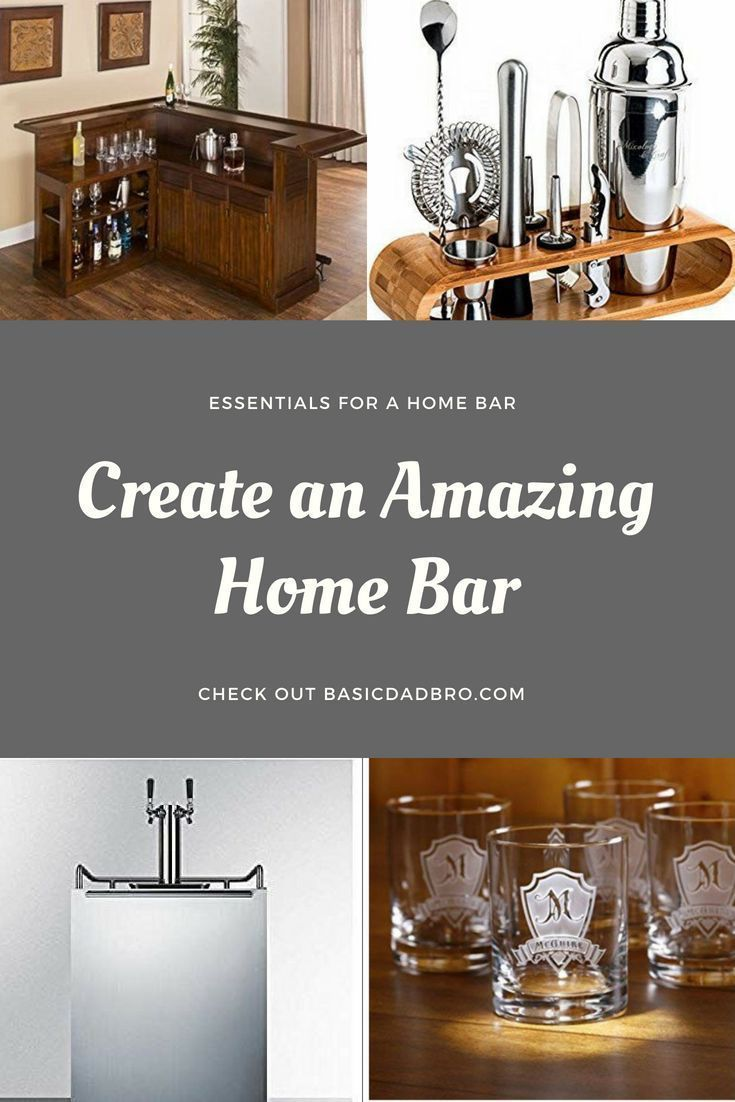 Adding A Home Bar To Your House Will Instantly Upgrade Family Gatherings It Can Be Really Simple Create An Amazing Just Piece