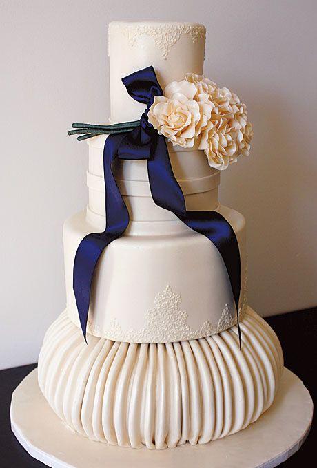 Brides: Outstanding Wedding Cake Designs :