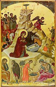 Natività di Cristo Iconografo: Theophanes il cretese