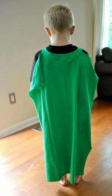 Boy, Oh Boy, Oh Boy Crafts: Handmade Costume Series: T-Shirt Superhero Cape and An (almost) No Sew Mask
