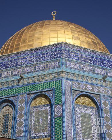 Dome of the Rock, Temple Mount, Jerusalem, Israel, 2009