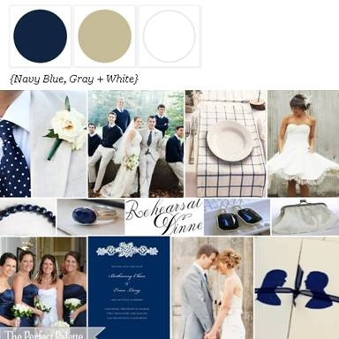 Navy wedding perfect with polka dot tie for Ryan @Jacqueline Pace
