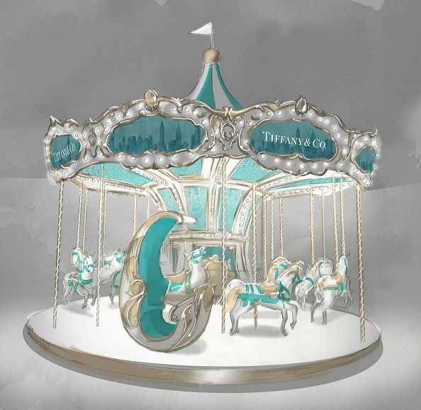 Tiffany & Co. @ A Brilliant Tiffany Holiday...never get anything like this in australia