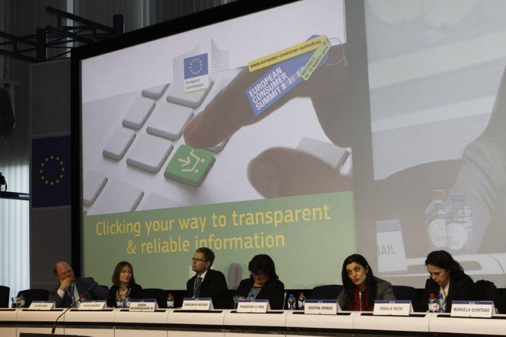 18-19 Μαρτίου 2013 - Ευρωπαϊκή Σύνοδος Κορυφής για τους Καταναλωτές