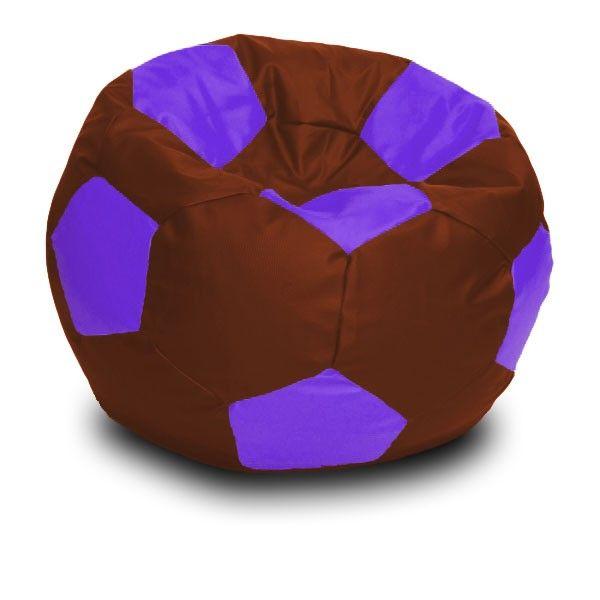 Foci XL babzsákfotel - lila -barna