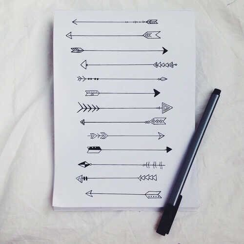 Arrow ideas for rib cage tattoo