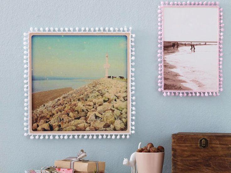 17 best ideas about bilderrahmen selber machen on. Black Bedroom Furniture Sets. Home Design Ideas
