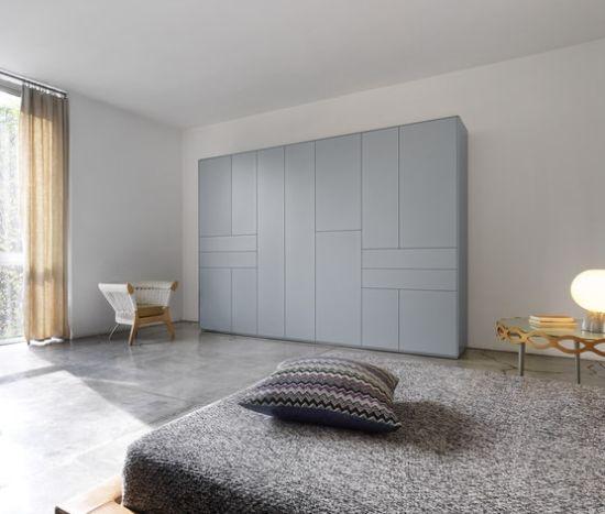 Diese Elegante Kleiderschrank Designs Gehören Zu Der Ultra Modernen X Line  Serie Von Piure. Die Griff Freien Kleiderschränke Im Minimalistischen Stil