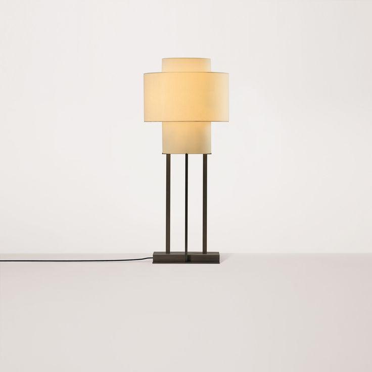 KUALA floor lamp by Bruno Moinard