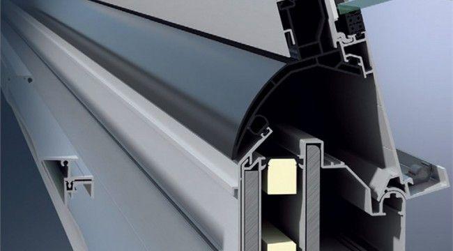 Schuco conservatory CMC50 aluminium roof