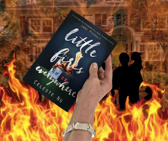 Epic story set in Shaker Heights, Cleveland, Ohio http://www.tripfiction.com/powerful-novel-set-shaker-heights-cleveland-ohio/ Little Fires Everywhere by Celeste Ng