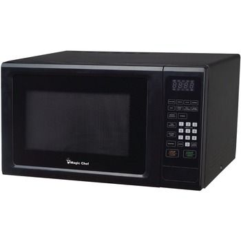Magic Chef 1.1 Cubic-ft 1000-watt Microwave With Digital Touch (black)