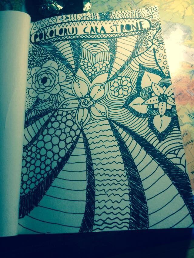 Podesłała Joanna Polejowska #zniszcztendziennikwszedzie #zniszcztendziennik #kerismith #wreckthisjournal #book #ksiazka #KreatywnaDestrukcja #DIY
