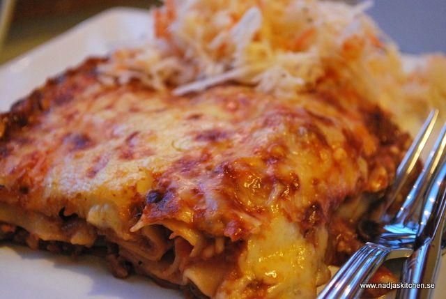 Köttfärslasagne med keso-nadjaskitchen.se-viktväktarna-propoints-pasta-lasagne