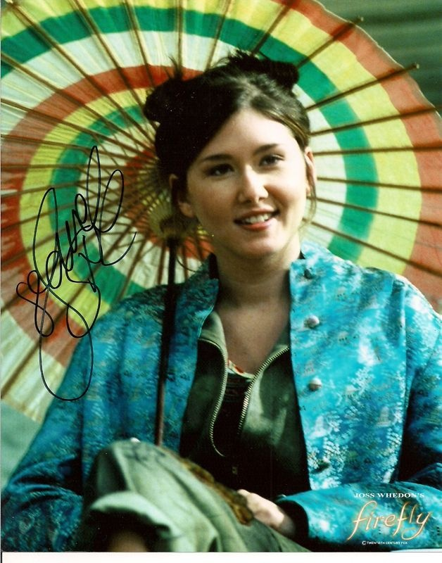 Jewel Staite as Kaylee - I loved this outfit