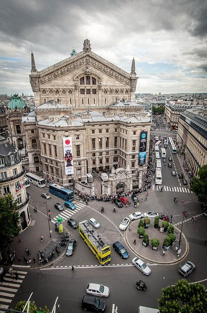 Palais Garnier Opera House, Paris.