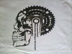 Men's Mountain Bike T Shirt - Men's Bicycle T Shirt - Men's Cycling T Shirt