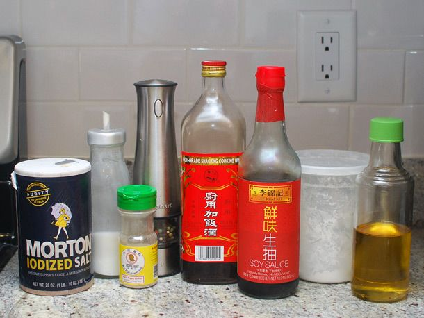 How to Marinade Meat for Stir Fries  30 minutes with basic ingredients you already have (I didn't even use cornstarch, and this basic combination still revolutionized my chicken stir fry)