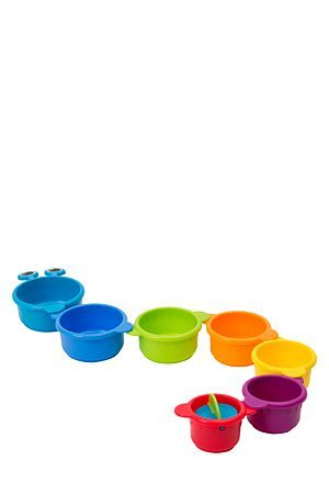 """Munchkin plastic caterpillar bath cups, and fun bath toy that will keep your little ones entertained in the water. Suitable for children 6 months and older.<div class=""""pdpDescContent""""><BR /><b class=""""pdpDesc"""">Dimensions:</b><BR />L10xW8xH18 cm</div>"""