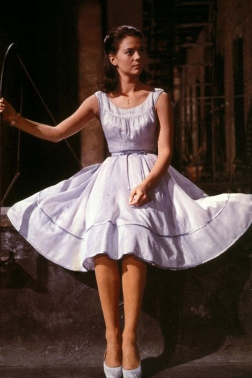 Natalie Wood in 'West Side Story', 1961.