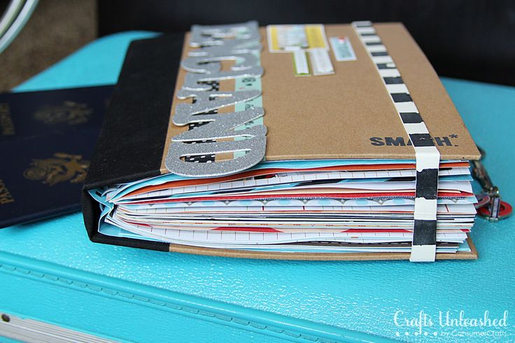"What is a smash book? A quick overview of this style of scrapbooking. It's what I've always thought of as ""scrapbook"" ;-) . . . . ღTrish W ~ http://www.pinterest.com/trishw/ . . . . #journal"