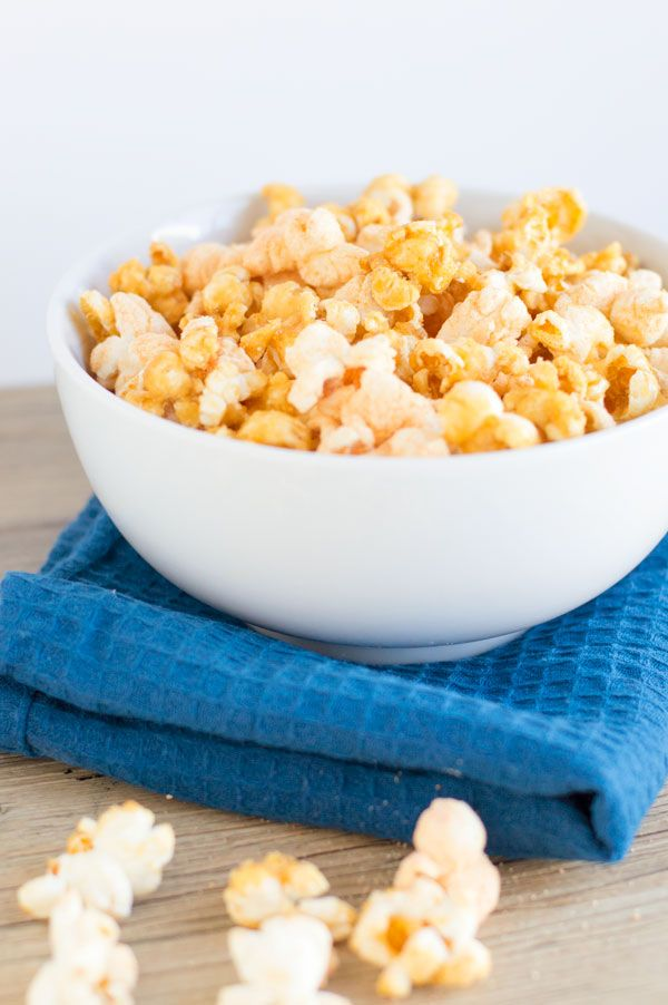 Chicago style popcorn is a blend of a salty sweet treat perfect to bid farewell to my favorite president!