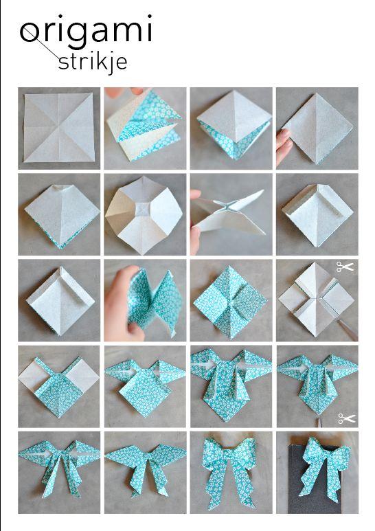 DIY Origami - strik