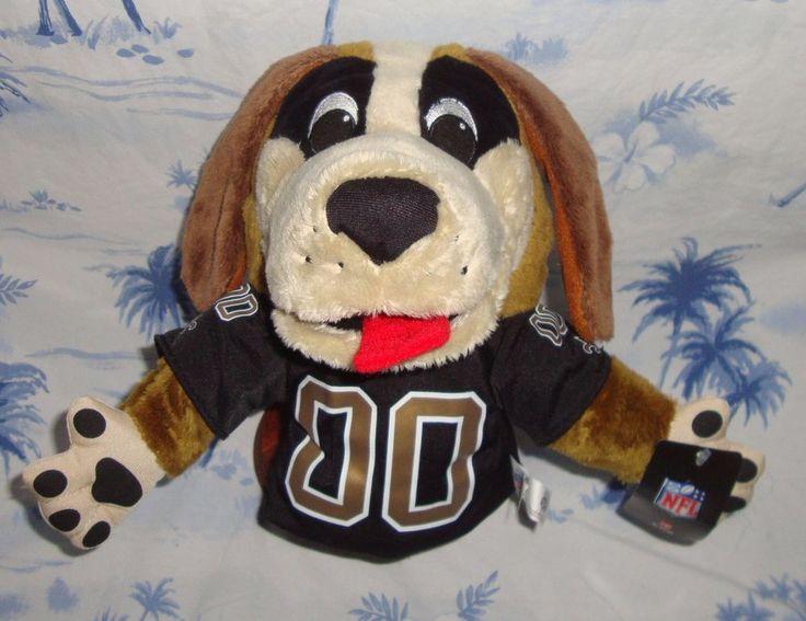 """New Orleans Saints Gumbo Dog Puppet Official NFL Merchandise 9"""" #NewOrleansSaints"""