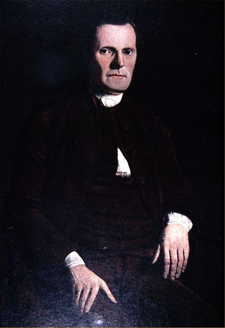 Roger Sherman (1721-1793) was a lawyer, politician and Founding Father.  He served on th Committee of Five which drafted the Declaration of Independence and was also a representative and senator in the new republic.  He was the only person to sign all four great state papers of the United States:  the Continental Association, the Declaration of Independence, the Articles of Confederation, and the Constitution.