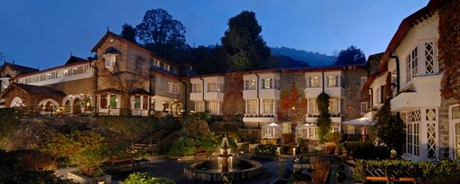 The Naini Retreat, Nainital This beautiful property stands on the picturesque Ayarpatta slopes, with a breathtaking view of the Naini Lake.