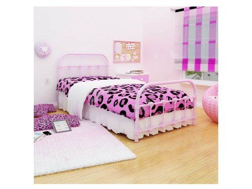 Twin Pink Metal Platform Bed With Headboard   Footboard. 1901 best Bed Frames Headboards   Footboards images on Pinterest