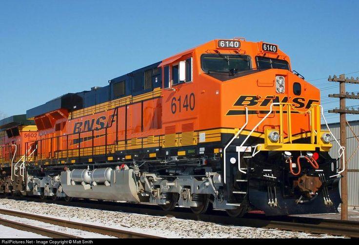 RailPictures.Net Photo: BNSF 6140 BNSF Railway GE ES44AC at Wayne, Michigan by Matt Smith