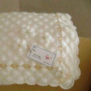 yumaşak örgü bebek battaniyesi