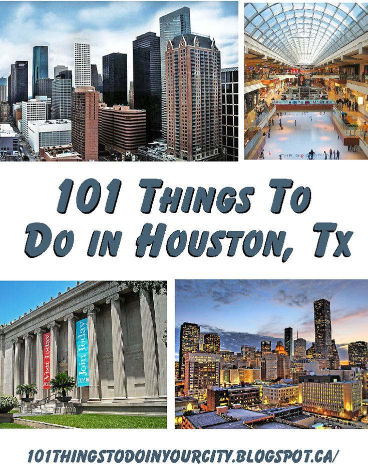 101 Things to do in Houston - The FamilyNow Sun