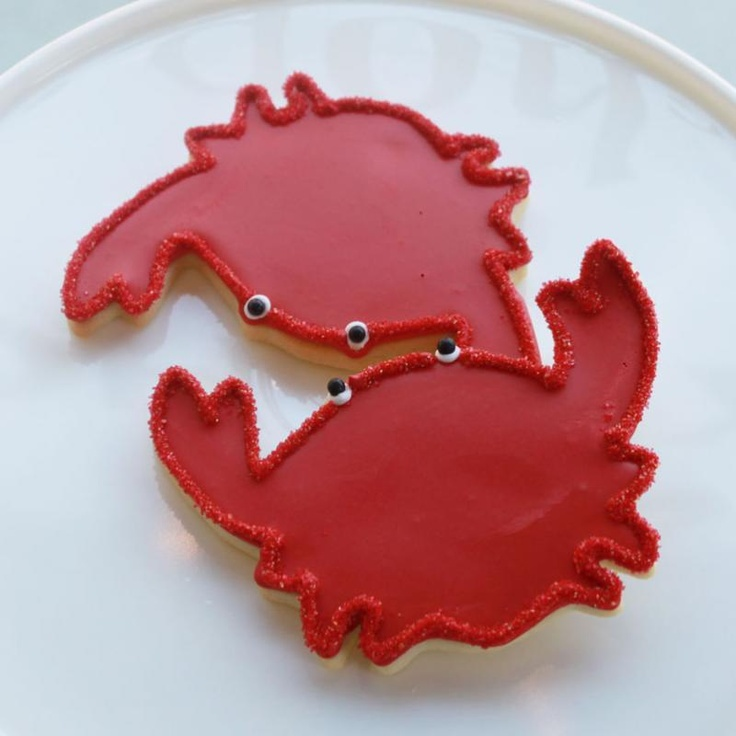 Crab Cookie Favors