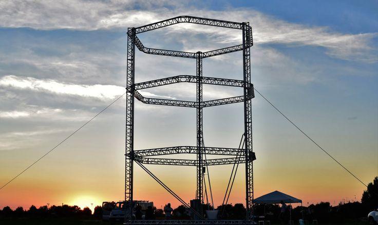 Big Delta: Impressora 3D com 12 metros de altura para construircasas