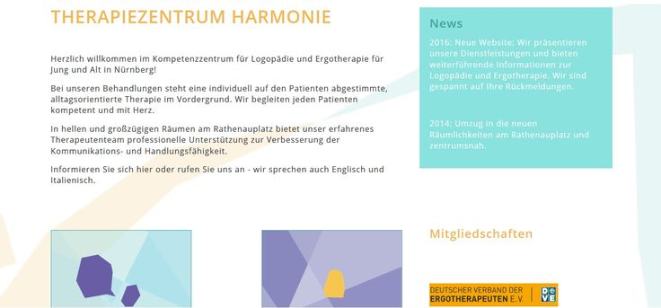 TZ harmonie provide speech therapy and occupational therapy for both child and adults at Nuremberg.  Contact us at +49911120 64 28 or visit our website http://tzharmonie.de/