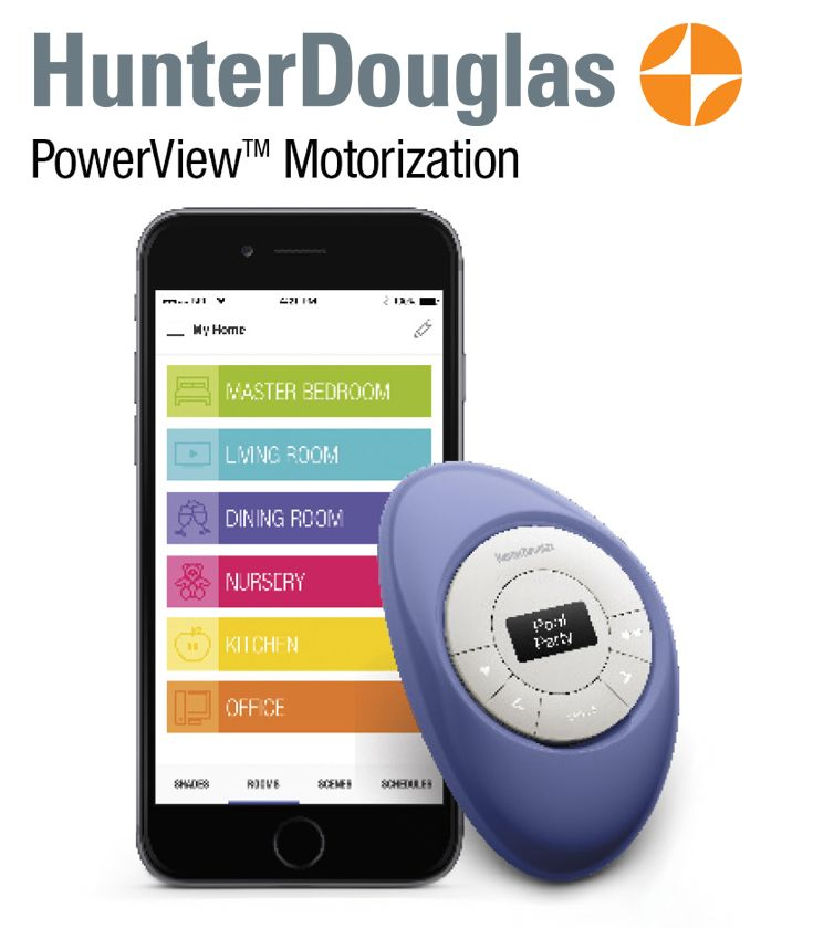 Powerview Motorization from Hunter Douglas. It moves your shades so that you don't have to! $150 Rebate savings* on select purchases of Hunter Douglas window fashions with PowerView Motorization. End 9/12/16 Learn more at http://www.creativewindows.com/promotions Creative Windows 2216 S Industrial Hwy Ann Arbor, MI 48104 (734) 769-5100
