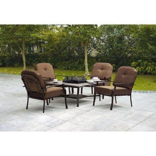 Garden Furniture With Fire Pit top 25+ best fire pit patio set ideas on pinterest | patio sets