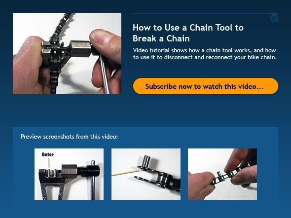 how to break chain lock