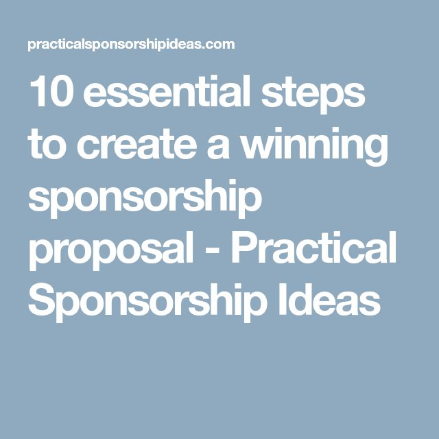 109 best Corporate Sponsorships images on Pinterest Fundraising - fundraising sponsorship form