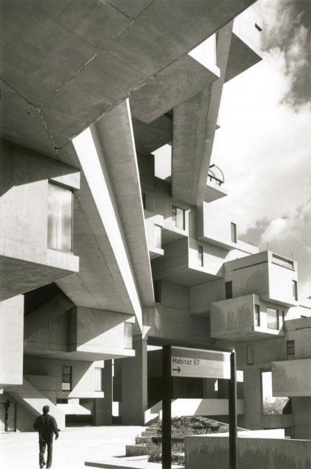Habitat 67, Montreal by Moshe Safdie  (1967)