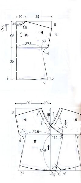 Картинка-blusa morada cruzada-esquema