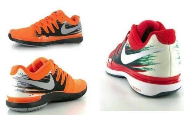 Roger Federer 2014 Signature Shoes: the Nike Zoom 9.5 Vapor