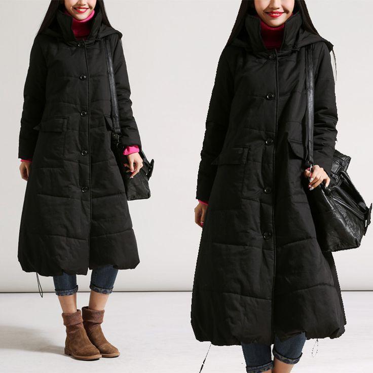 Loose padded jacket - Buykud