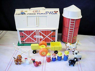 fisher price barn..still have this too