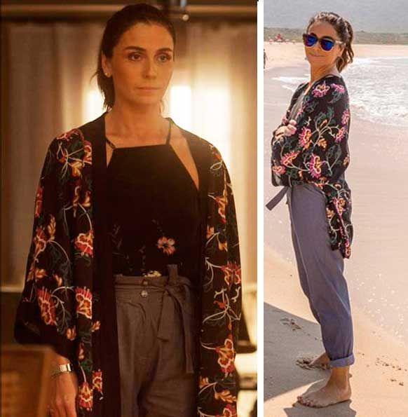 Alice (Giovanna Antonelli) figurino kimono , Sol Nascente                                                                                                                                                                                 Mais