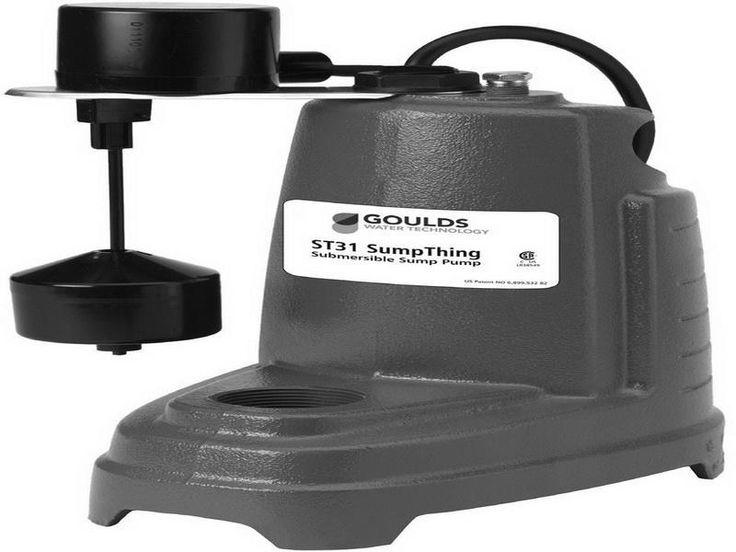 Vertical Installing A Sump Pump